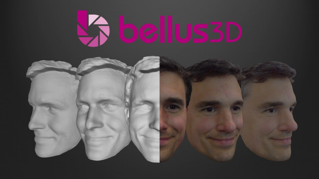 Bellus3D: High-quality 3D face scanning